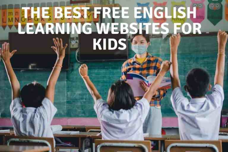 The Best Free English Learning Websites for Kids
