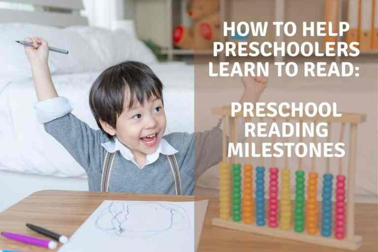 How To Help Preschoolers Learn To Read: Preschool Reading Milestones