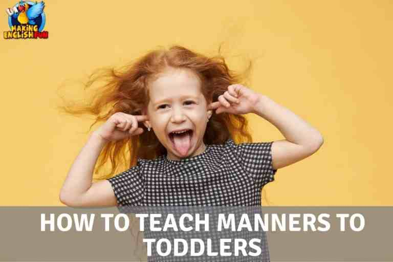 How to Teach Manners to Toddlers
