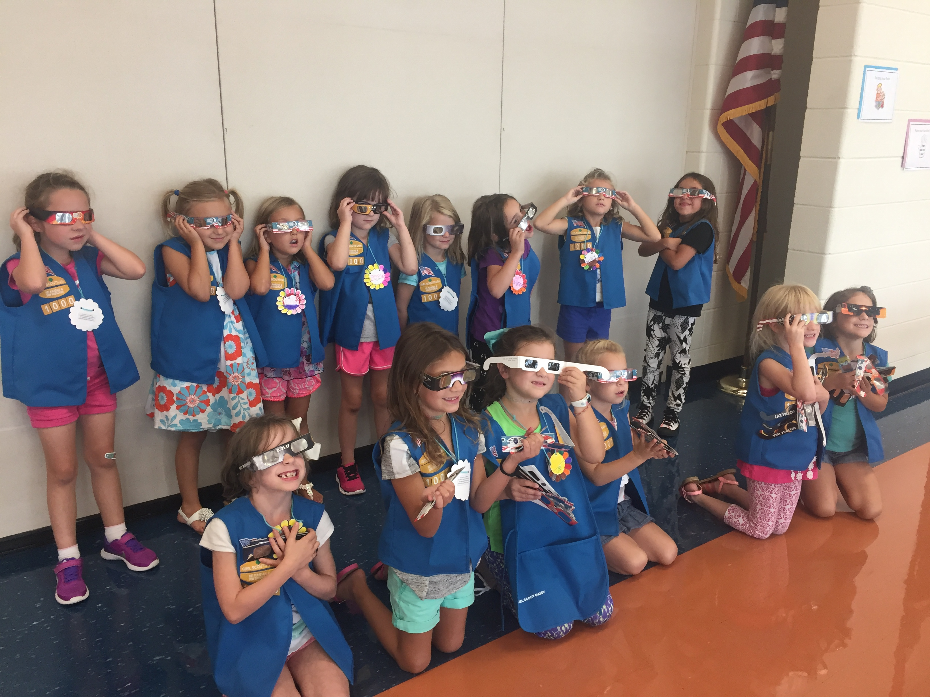 Daisy Troop Starts Year With Fun Service And Investiture