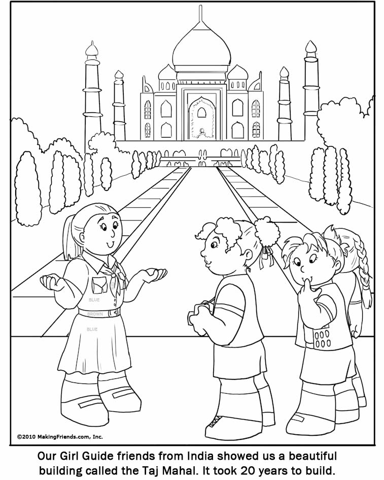 girl guide page