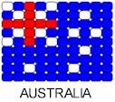 Flag Pin Pattern