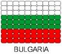 Bulgaria Flag Pin Pattern
