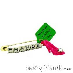 France Shoe International Girl Scout Friendship SWAP Kit via @gsleader411