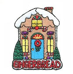 Girl Scout Gingerbread Fun Patch