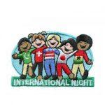 Girl Scout International Night Fun Patch
