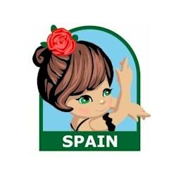 Girl Scout Spain Fun Patch