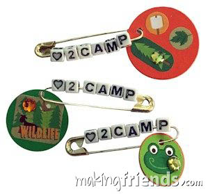 Love to Camp Girl Scout Friendship SWAP Kit via @gsleader411