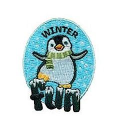 Girl Scout Winter Fun Patch