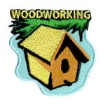 Girl Scout Woodworking Patch