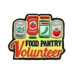 Girl Scout Food Pantry Fun Patch