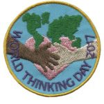 World Thinking Day 2017 Girl Scout Patch