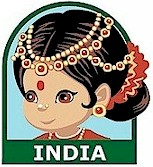 India Patch. Make the India Patch part of your exploration of Gandhi, Bollywood, the Taj Mahal, saris, Mendi, curry or any of the other wonderful cultural aspects of India. Our page India   Ideas for Thinking Day* has more ideas for costumes, free printables, crafts, friendship swaps and more. via @gsleader411