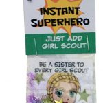 Girl Scout Superhero SWAP