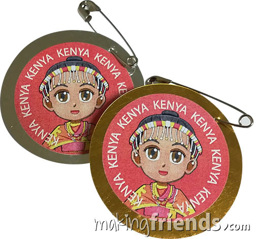 The Kenya International Costume Friendship Swap Kit features Superhero Twilight in traditional costume. No scissors or glue needed. Fun and easy too. Kit makes 24. Looking for more ideas for your Kenya Thinking Day booth? You'll find patches, games, crafts and more on our page Kenya   Ideas for Thinking Day*. via @gsleader411