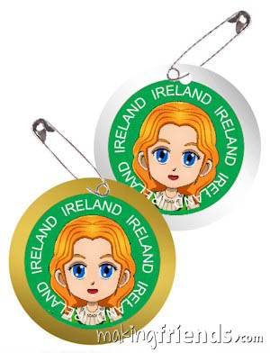 Girl Scout Ireland Thinking Day SWAP Kit via @gsleader411