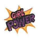 Girl Power Fun Patch