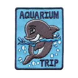 Girl Scout Aquarium Trip Fun Patch