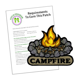 Girl Scout Campfire Patch Program®