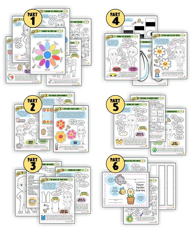 """Superhero Flower Garden Adventure Download. With the Superhero Flower Garden Adventure Download from MakingFriends®.com, your troop will complete their """"Welcome to the Daisy Flower Garden"""" JOURNEY* and all ten petals in six fun, easy meetings you and your girls will love. via @gsleader411"""