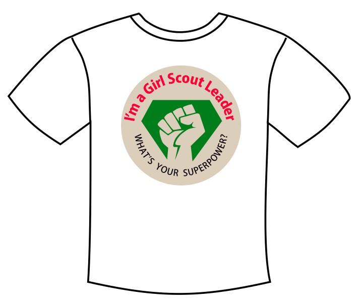 Girl Scout Leader Tee Shirt Transfer