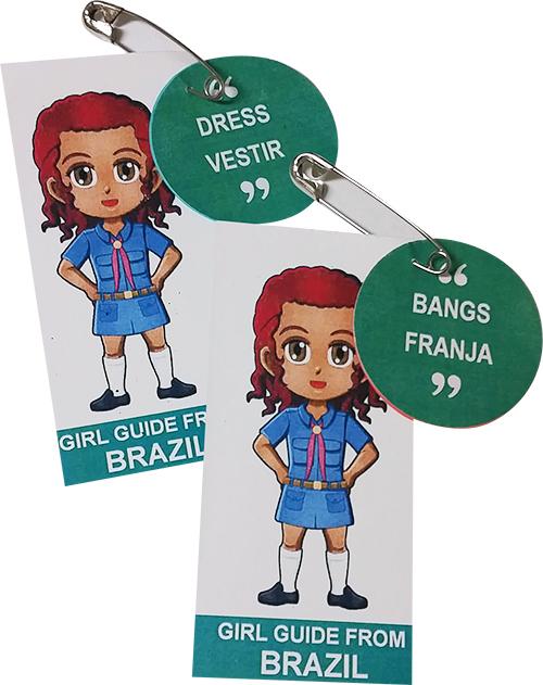 Brazil Girl Scout SWAP
