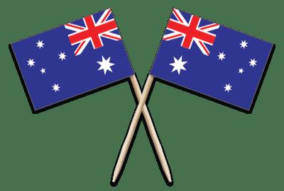 Australia Toothpick Flags
