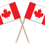 Canada Toothpick Flags