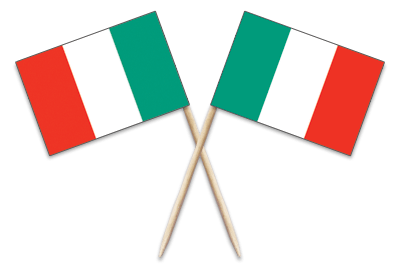 Italy Toothpick Flags