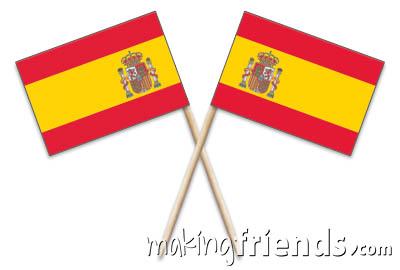 Spain Toothpick Flags via @gsleader411