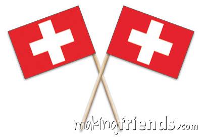Switzerland Toothpick Flags via @gsleader411