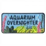 Aquarium Overnighter Girl Scout Fun Patch
