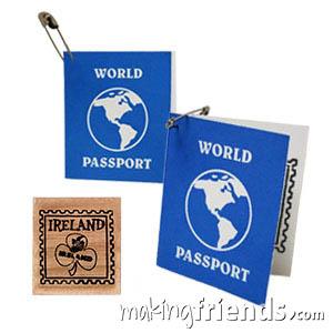 Ireland Girl Scout Mini Passport SWAP Kit via @gsleader411