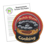 Girl Scout Dutch Oven Cooking Patch