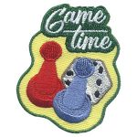 Girl Scout Game Time Patch