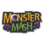 Girl Scout Monster Mash Fun Patch