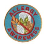 Girl Scout Allergy Awareness Patch
