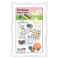 Youth Strong Pet Helper Badge in a Bag®