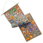 DIY Felt Girl Scout Swap Banner
