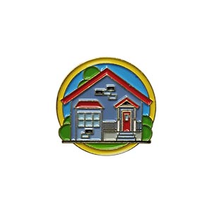 Shelter Delegate Pin for Community Service from Youth Strong