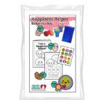 Happiness Helper Badge in a Bag