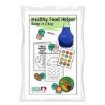 Healthy Food Helper Badge in a Bag