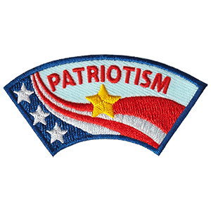 Patriotism Advocate Service Patch from Youth Squad