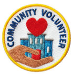Community Volunteer Service Patch from Youth Squad