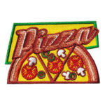 Pizza Slices Fun Patch