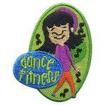 Dance Fitness Fun Patch