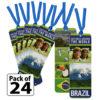 Brazil Thinking Day Bookmarks