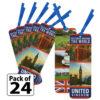 United Kingdom Thinking Day Bookmarks
