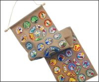 Girl Scout Patch Banner