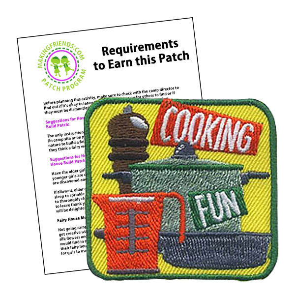 Girl Scout Cooking Fun Patch